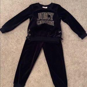 Juicy Couture velour suit